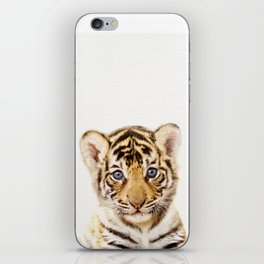 Baby Tiger, Baby Animals Art Print By Synplus iPhone Skin