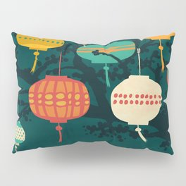 Lanterns Pillow Sham
