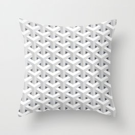 sqares Throw Pillow