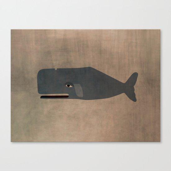 le cachalot Canvas Print