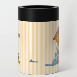 Rabbit catlover Can Cooler