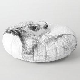 Rihanna Floor Pillow
