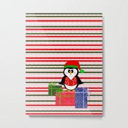 Whimsical Christmas Metal Print
