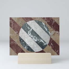 Marble Illusion Mini Art Print