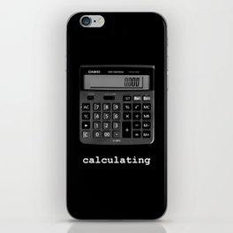 Calculating iPhone Skin