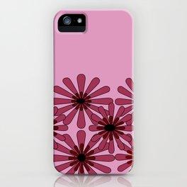 Pink Flower Pattern 1 iPhone Case