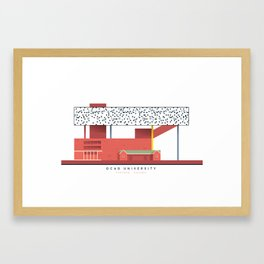 OCAD University | Icon-O-Tecture Framed Art Print