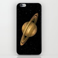 saturn iPhone & iPod Skins featuring Saturn by Terry Fan