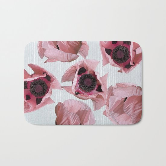 Perfection in a poppy Bath Mat