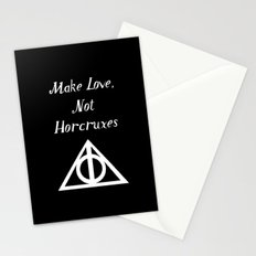 Make Love, Not Horcruxes Stationery Cards