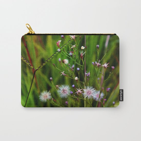 I'd rather be a weed than smell of roses cultured seed Carry-All Pouch