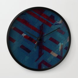 against the grain, i shall remain Wall Clock