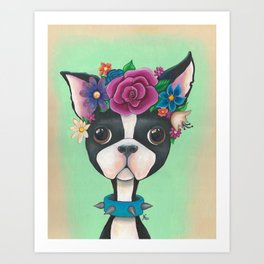 Whimsical Bam Bam Art Print