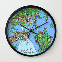 Space Picker Wall Clock