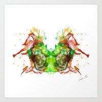 chicago bulls Art Prints featuring Bulls by MuDesignbyMugeBaris