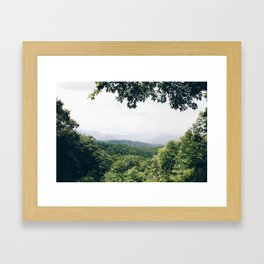 The Great Smoky Mountains Gatlinburg Tennessee Framed Art Print