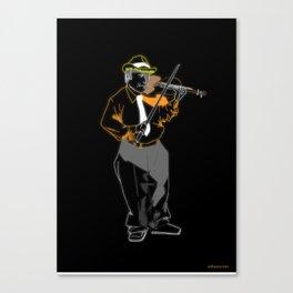 Violinista Canvas Print