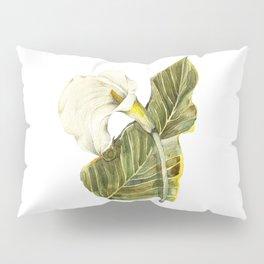 White Calla Lily Pillow Sham