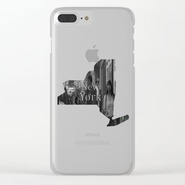 Reflections in Color: New York City Clear iPhone Case