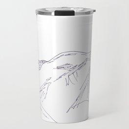 Rocky Mountains sketch Travel Mug