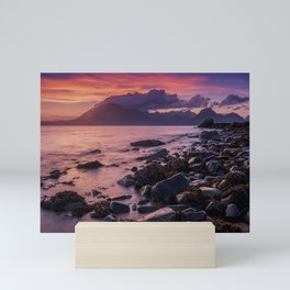 Sunset Over the Cuillin II Mini Art Print