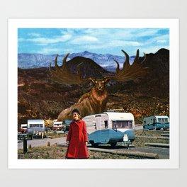 Alaska Trip 65' Art Print