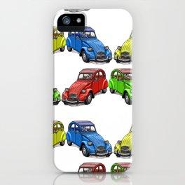 2CV pattern new iPhone Case