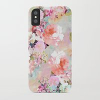power iPhone & iPod Cases featuring Love of a Flower by Girly Trend