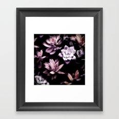 Succulent PATTERN II Framed Art Print