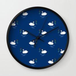 Swan Song Wall Clock