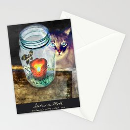 Scat & the Moth Stationery Cards