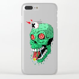 Extreme trip!!! Clear iPhone Case