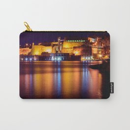 Capital City of Malta, Valletta  Carry-All Pouch