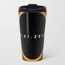 Total Solar Eclipse August 21 2017 Travel Mug