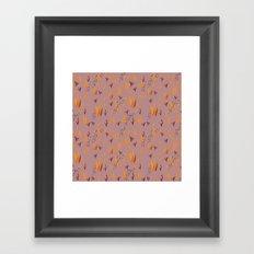 Llama Desert Grass Framed Art Print