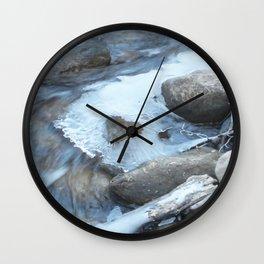 Water Heart Wall Clock