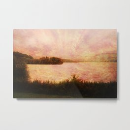 A Rather Breezy Day. Metal Print
