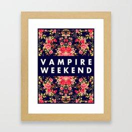 Vampire Weekend Framed Art Print