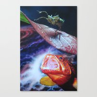 bug Canvas Prints featuring Bug by John Turck