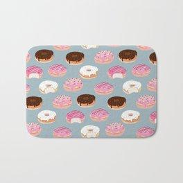 Sweet Donuts pattern Bath Mat