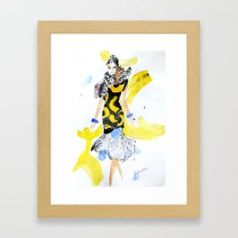 Fashion Celine Framed Art Print