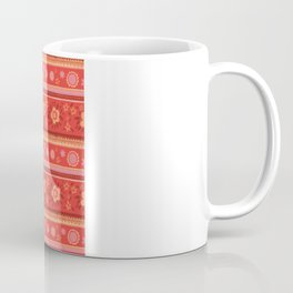 Bright Red Flowers Coffee Mug