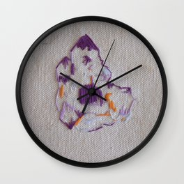 Ozark Crystals III Wall Clock