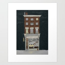 Eleanor's Coffee Shop Art Print