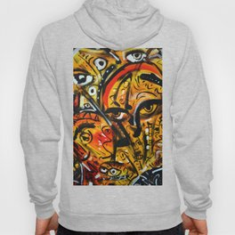 The third eye expressionist art Hoody