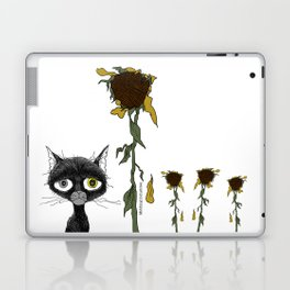 Sad is one complicated emotion of a cat! Laptop & iPad Skin