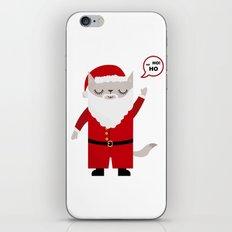 Santa Claws iPhone & iPod Skin