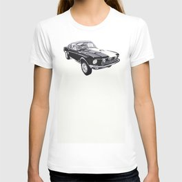1968 Foulger-Mustang 428 Cobra Jet Fastback T-shirt
