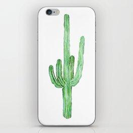 Saguaro cactus iPhone Skin