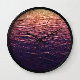 Maritime gradient II Wall Clock